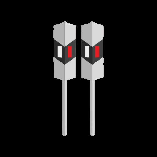 Столбик железнодорожный сигнальный (сигнальный ЖД столбик)