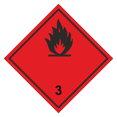 Знак опасности. Класс 3.1 Лекговоспламеняющаяся жидкость