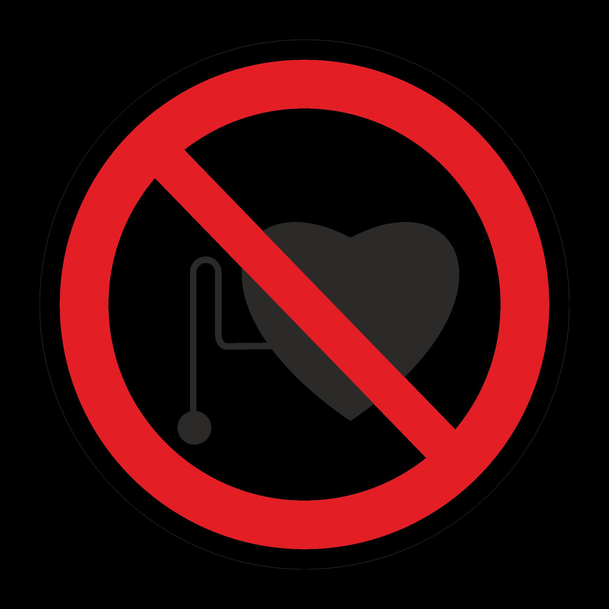 Р11 Запрещается работа людей со стимуляторами сердечной деятельности