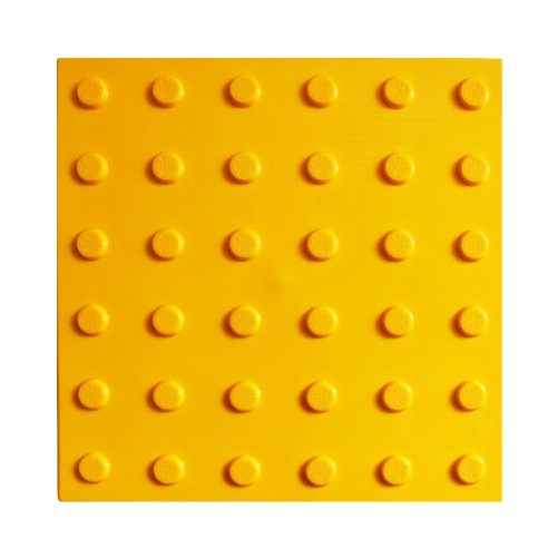 Бетонная тактильная плитка с конусообразным рифом (300 мм)
