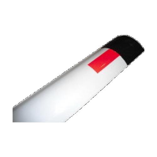 Металлический дорожный сигнальный столбик С3 гибкий прямой верх