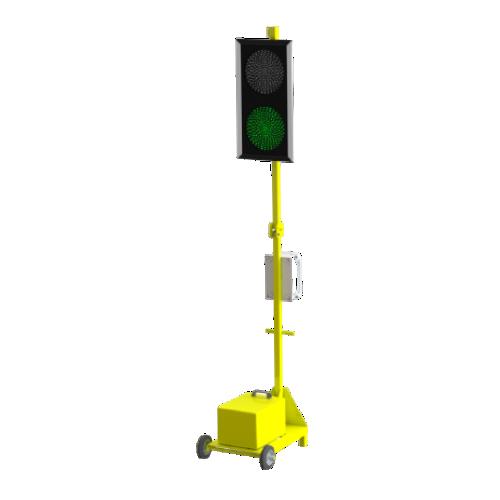 Мобильный автономный светофор Т.8.2