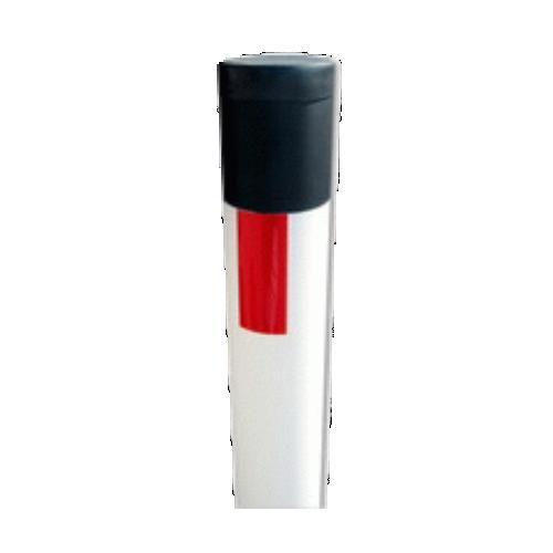 Дорожный пластиковый сигнальный столбик С1О круглое сечение 1500мм