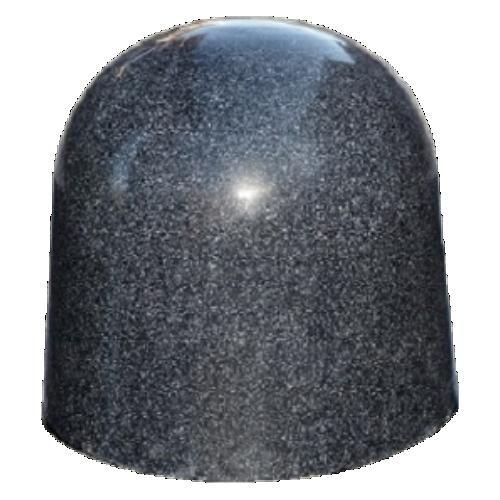 Бетонная полусфера БПС-11 [Под гранит, коричневая, антипарковочная]