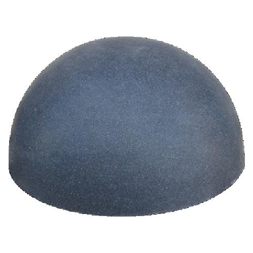 Бетонная полусфера БПС-9 [Под гранит, синяя, антипарковочная]