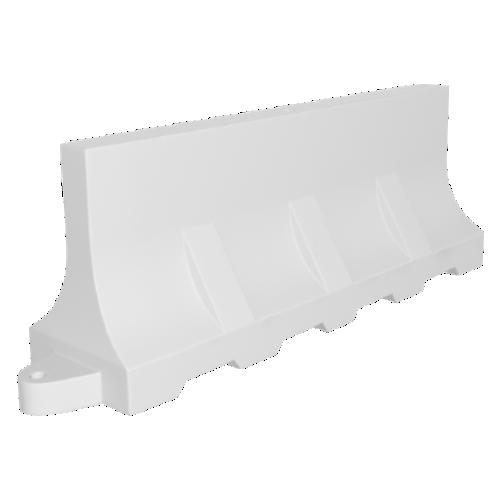 Дорожный барьер водоналивной, пластиковый БВ-2-Б [белый]