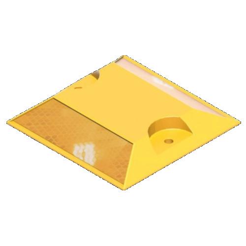 Катафот дорожный КД-3-Ж световозвращающий [Желтый]