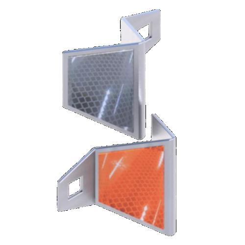 Катафот дорожный КД-5 металлический, световозвращатель [тип пленки В]
