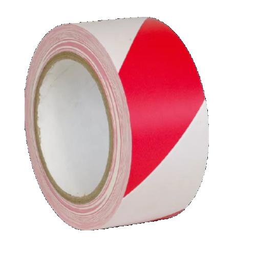 Лента для разметки пола красно-белая (Standart)