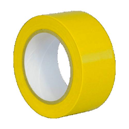Клейкая лента для разметки, маркировки пола желтая (Standart)