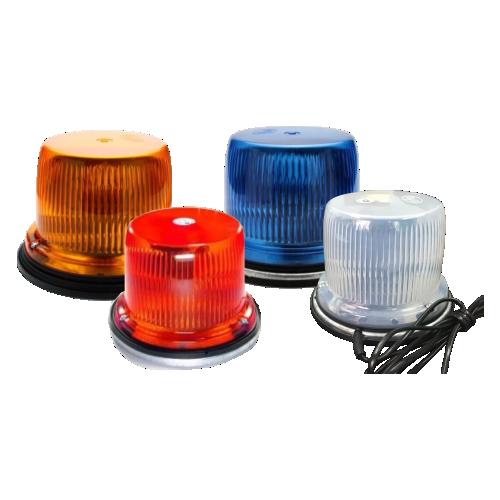 Светодиодный маяк ФП-1-120 (3 диода) [Мигалка для автомобилей, магнитное крепление]