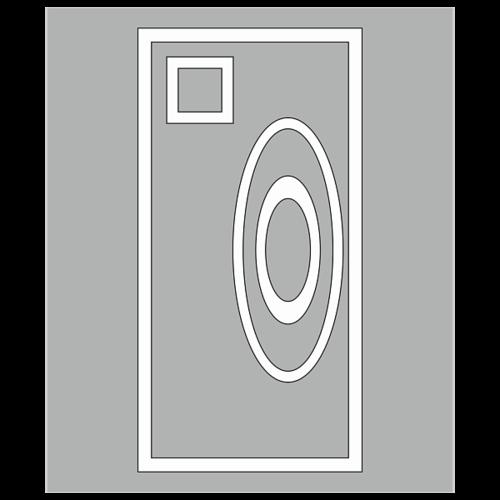 """Трафарет для дорожной разметки 1.24.4 """"Фотовидеофиксация"""""""