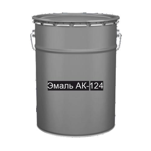 Краска для дорожной разметки Эмаль АК-124 серая